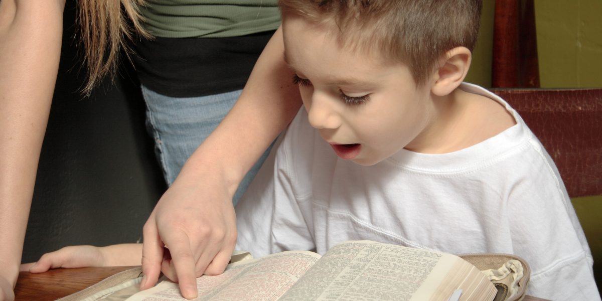 lead a child to Christ
